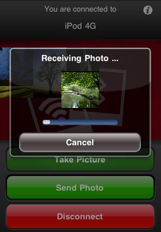 Bluetooth Foto Transfer