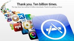 متجر آبل للتطبيقات يصل إلى 10 مليار تنزيل