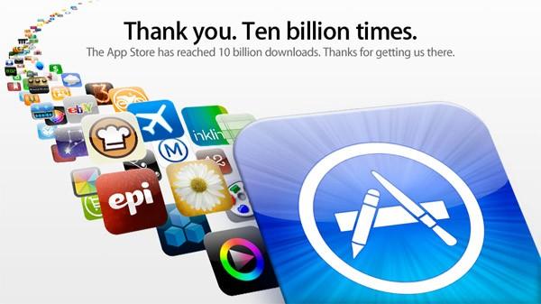 Photo of متجر آبل للتطبيقات يصل إلى 10 مليار تنزيل