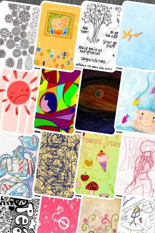 Doodle Wallpapers - خلفيات رائعة للايفون