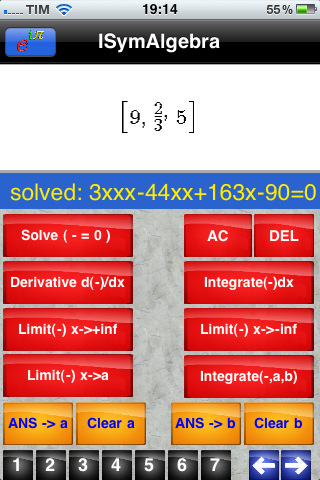 iSymAlgebra