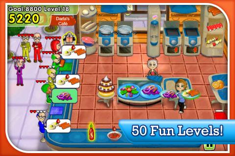 Cooking Dash - لعبة متعة وادمان