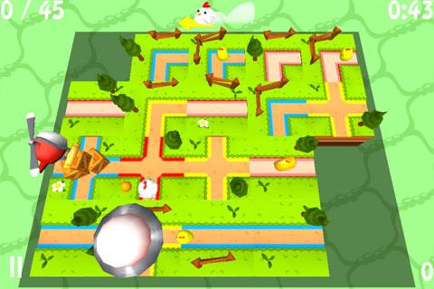 "Chicken Escape – لعبة ""بازل"" شيقة"