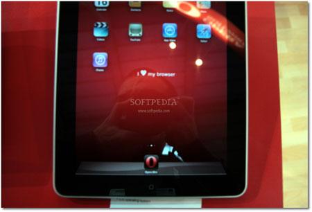 متصفح اوبيرا للايباد