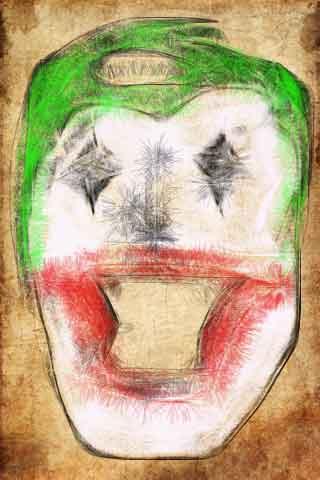 رسم: the joker