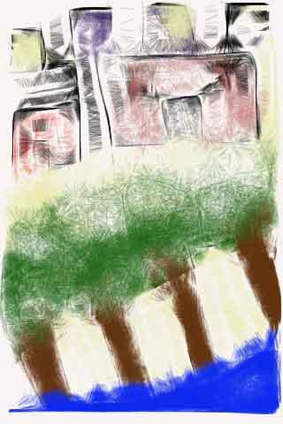 رسم: ابراهيم الغانم