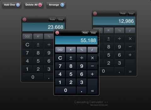 Cascading Calculator