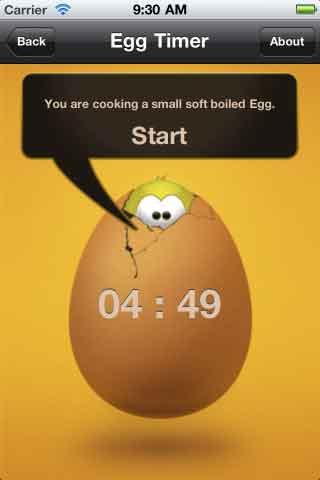 البيضة اصبحت مسلوقة