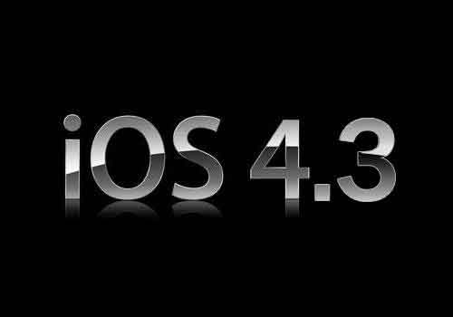 نظام التشغيل IOS 4.3
