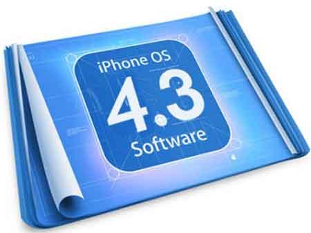 نظام التشغيل القادم IOS 4.3