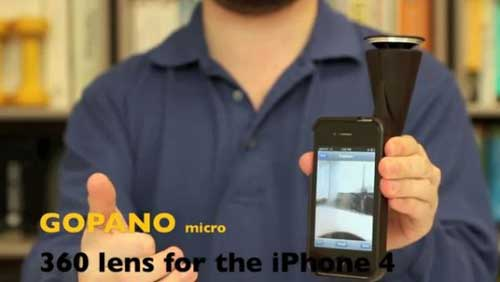 GoPano – كاميرا وتطبيق للتصوير بـ 360 درجة للأيفون