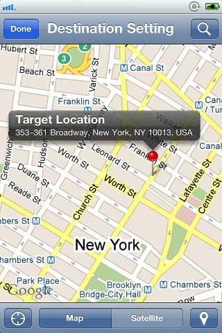 LocationAlarm: GPS Arrival Alert
