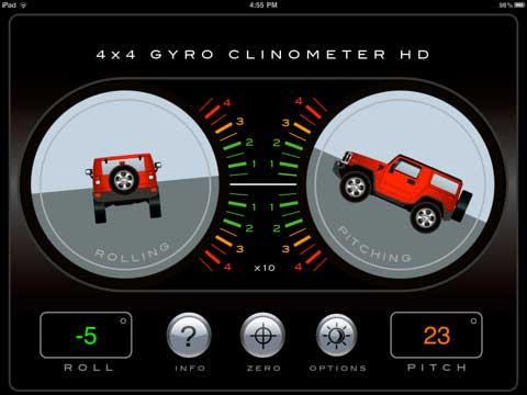 4x4 Gyroscope Tilt Pro HD