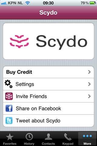 Scydo - Free Phone Calls
