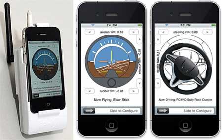 تطبيق iPhly - الايفون يقود الطائرة والسيارة