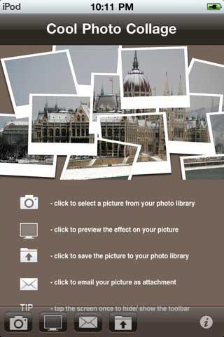 تطبيق Cool Photo Collage