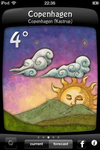 تطبيق Weather Doodle
