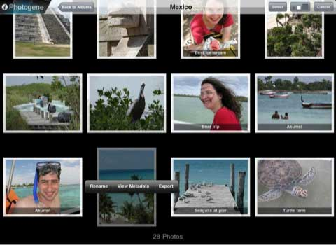 Photogene for iPad