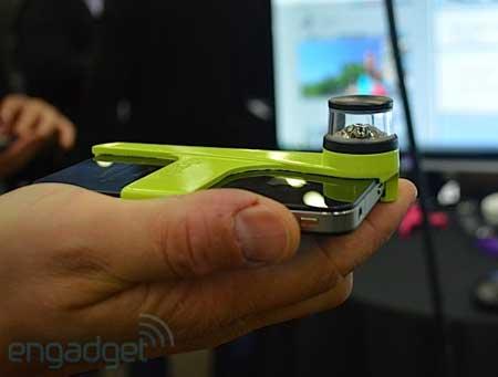 شركة Kogeto تزود الايفون 4 بكاميرا 360 درجة