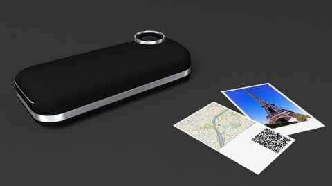 فكرة مستقبلية – طابعة لجهاز الايفون