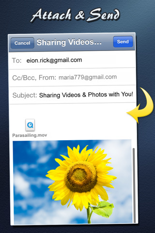 Video Email (+ Photos)