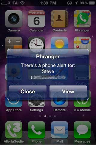 تطبيق Phranger