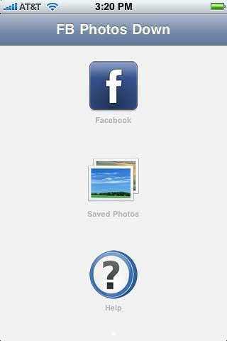 تطبيق FB Photos