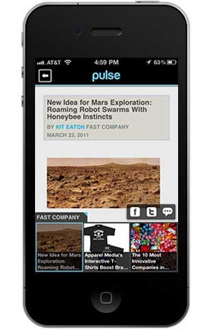 تطبيق Pulse News Mini