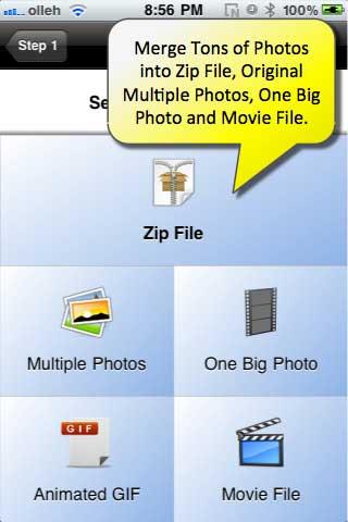 تطبيق Photo Sender