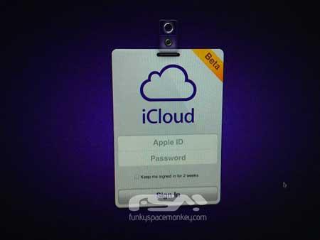 صفحة الاتصال بخدمة iCloud ؟