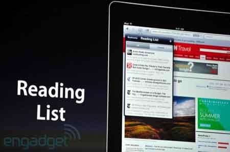عرض خدمة Reading List