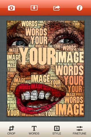 تطبيق WordFoto