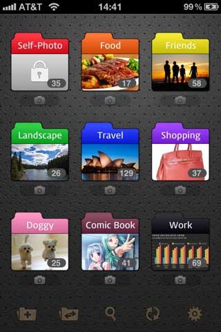 تطبيق Photo+Folder