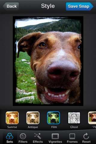 Snapbucket – تطبيق لمعالجة سريعة للصور
