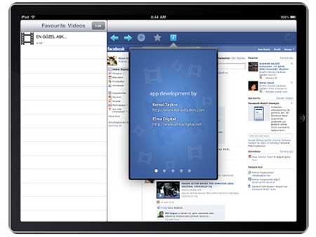 قريبا: تطبيق رسمي للفيسبوك على جهاز الايباد