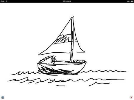 Air Sketch Free – بث مباشر من الايباد للكمبيوتر