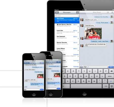 خدمة iMessage للرسائل والدردشة عبر أجهزة أبل