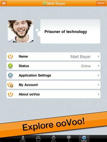 تطبيق ooVoo Mobile
