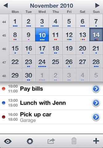 تطبيق Week Calendar