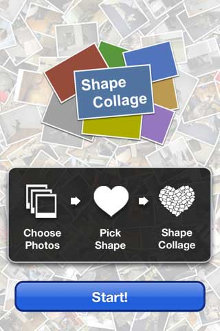 تطبيق Shape Collage