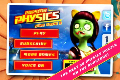 تطبيق Popstar Physics