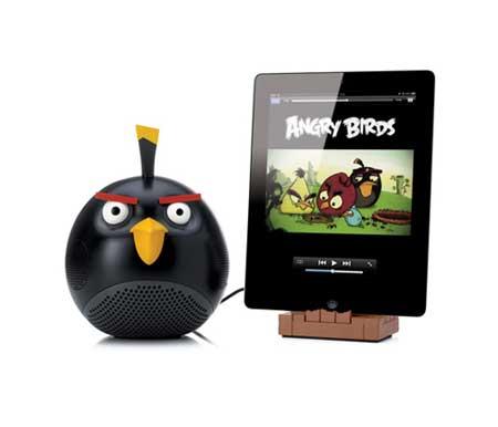 سماعات لأجهزة الايفون على شكل العصافير الغاضبة