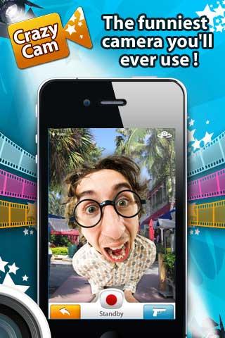 تطبيق CrazyCam
