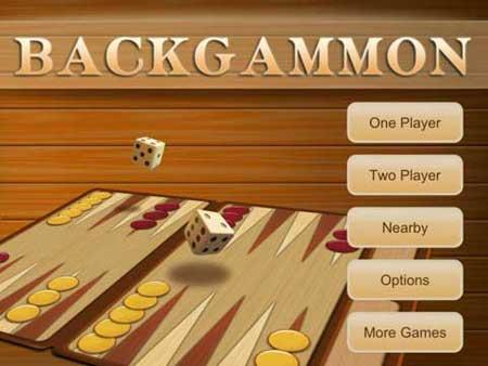 تطبيق Backgammon