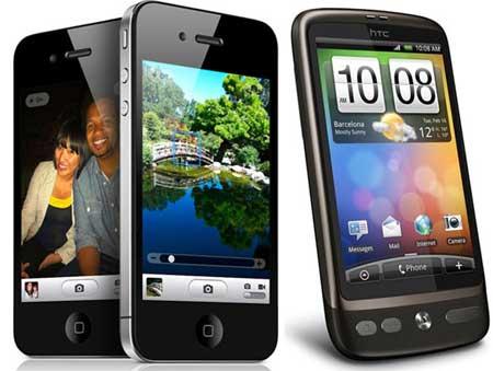 بعد سامسونج، ابل  تعلن الحرب القضائية على HTC بأنها اختلست ابتكاراتها