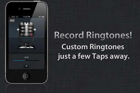 Create Ringtones – تصميم رنات للايفون