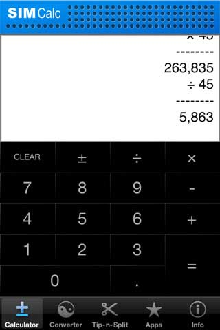 Simple Calculator – تطبيق آلة حاسبة مبسطة
