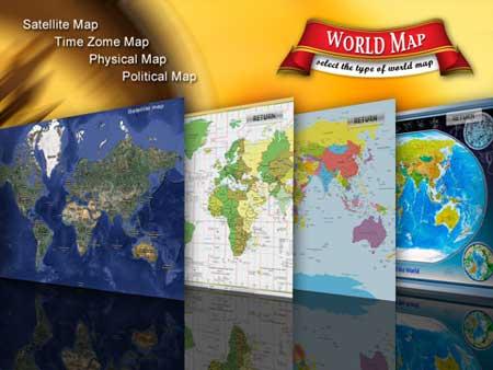 World Atlas – أطلس العالم للايباد فقط