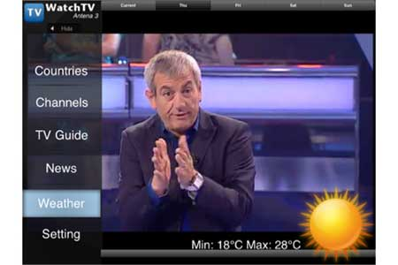 WatchTV Free – تطبيق مجاني لمشاهدة التلفزيون