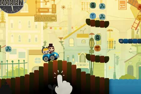 Bumpy Road – من أجمل الألعاب في ابستور